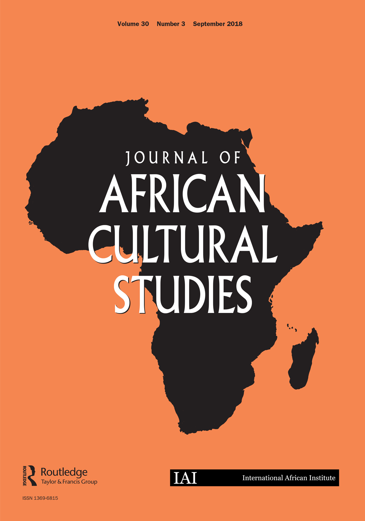 Journal of African Cultural Studies.